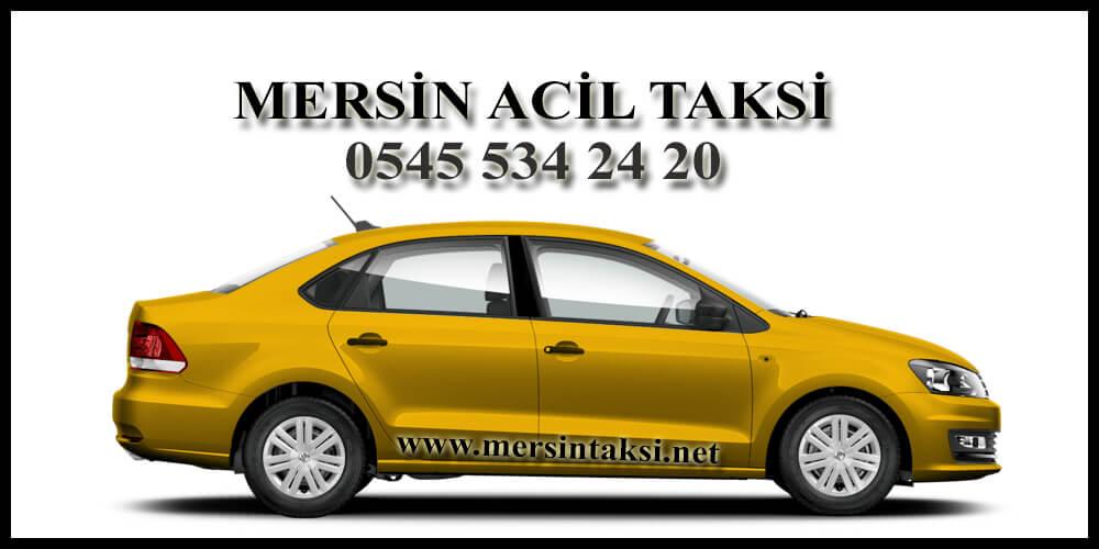 Mersin Acil Taksi Çağır (Hızlı Taksi) - 05455342420