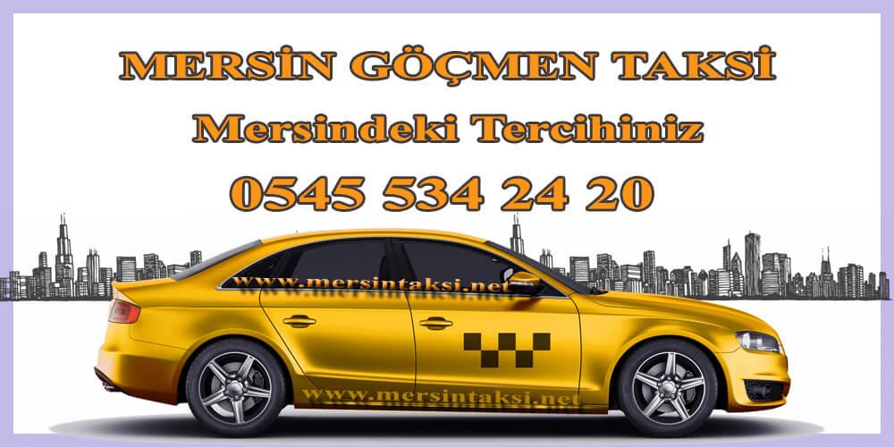 Mersin Göçmen Taksi, Mersindeki Tercihiniz - 05455342420