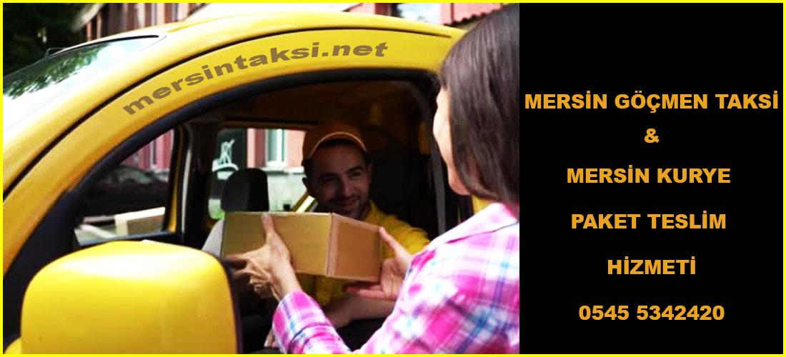 Mersin Göçmen Taksi ve Mersin Kurye Paket Teslim Hizmeti