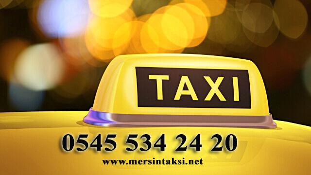 Mersin Taksi Bul (5 Dk Kapında) - 05455342420