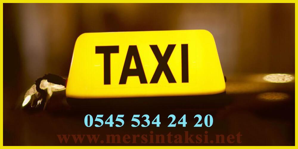 Mersin Taksi Vazgeçilmeziniz Olacak - 05455342420