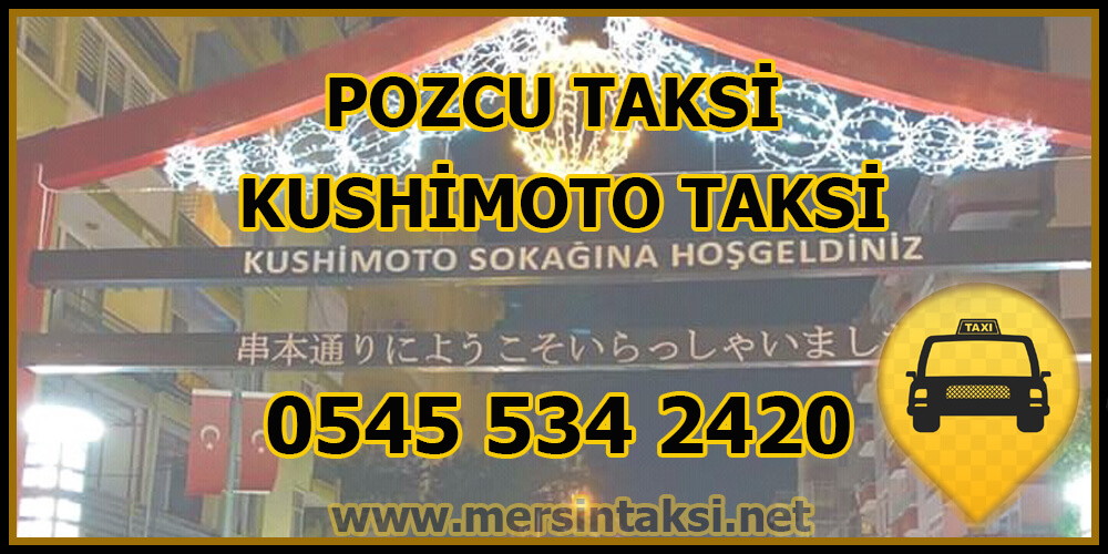 Pozcu Taksi - Kushimoto Taksi Çağır - 05455342420